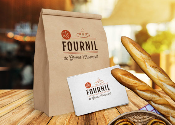 Création du logo Le Fournil de Grand Charmont